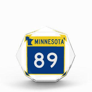 ミネソタのトランクのハイウェー89 表彰盾