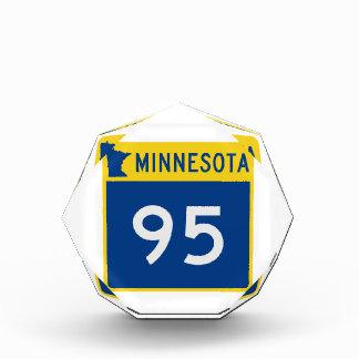 ミネソタのトランクのハイウェー95 表彰盾