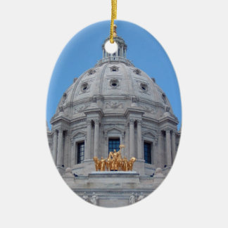 ミネソタの国会議事堂のドーム セラミックオーナメント