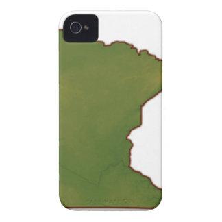 ミネソタの地図 Case-Mate iPhone 4 ケース