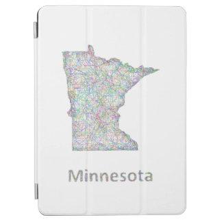 ミネソタの地図 iPad AIR カバー