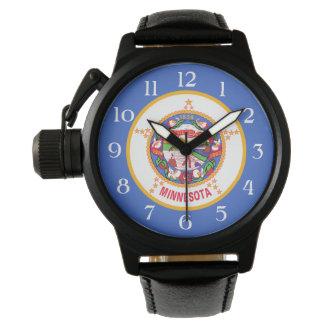 ミネソタの州の旗 腕時計