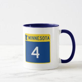 ミネソタの州ハイウェー4 マグカップ