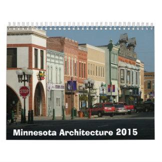 ミネソタの建築カレンダー- 2015年 カレンダー