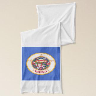 ミネソタの旗が付いている愛国心が強いスカーフ スカーフ