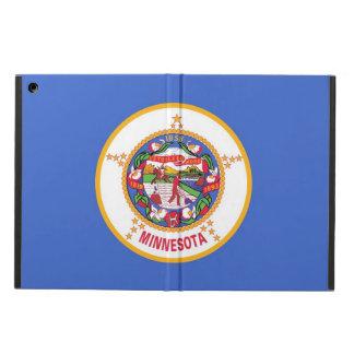ミネソタの旗との愛国心が強いipadの場合 iPad airケース