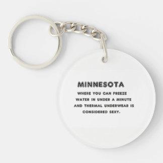 ミネソタの氷結 キーホルダー