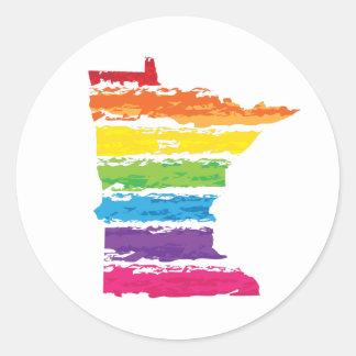 ミネソタの虹の打撃 ラウンドシール