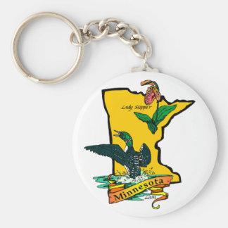 ミネソタの記号Keychain キーホルダー