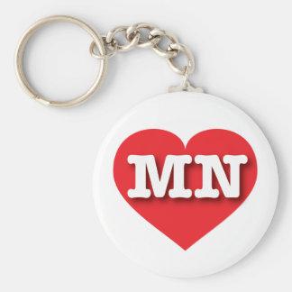 ミネソタの赤いハート-大きい愛 キーホルダー