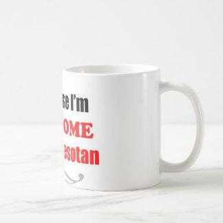 ミネソタは素晴らしいです コーヒーマグカップ