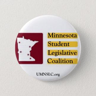 ミネソタ学生の立法連合ボタン 5.7CM 丸型バッジ