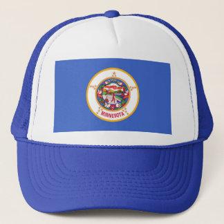 ミネソタ州米国の旗が付いている帽子 キャップ