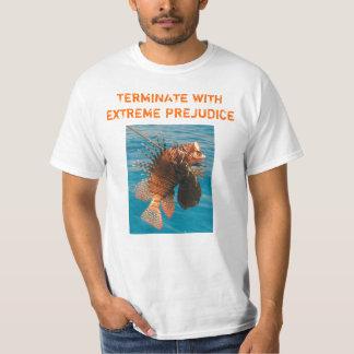 ミノカサゴの死の(より軽い)上 Tシャツ