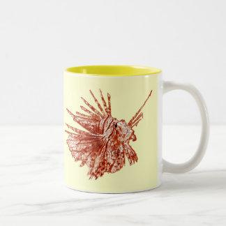 ミノカサゴ ツートーンマグカップ