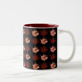 ミノカサゴ(色両方とも) ツートーンマグカップ