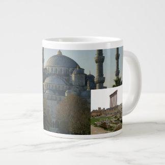 ミハエルの旅行のジャンボ版 ジャンボコーヒーマグカップ