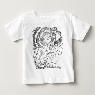 ミハエルピアソンの抽象美術 ベビーTシャツ