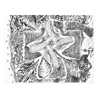 ミハエルピアソンの抽象美術 ポストカード