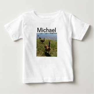 ミハエルベビーのTシャツ ベビーTシャツ