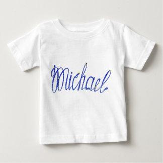 ミハエル名前 ベビーTシャツ