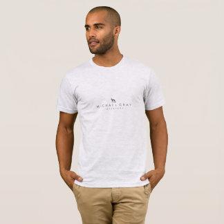 ミハエル灰色のインテリア Tシャツ