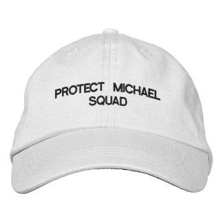 ミハエルCLIFFORDの保護分隊 刺繍入りキャップ