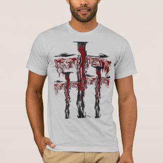 """ミハエルCrozz著""""小雨が降った懸濁液"""" Tシャツ"""