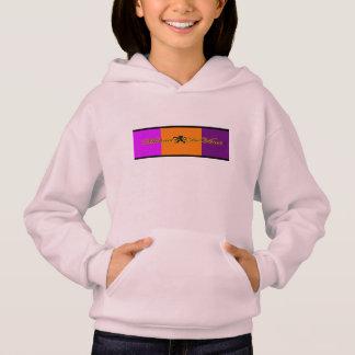 ミハエルDeVinci女の子のHanes ComfortBlend®のフード付きスウェットシャツ