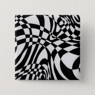 ミハエルMoffa c1991著視覚#1 5.1cm 正方形バッジ