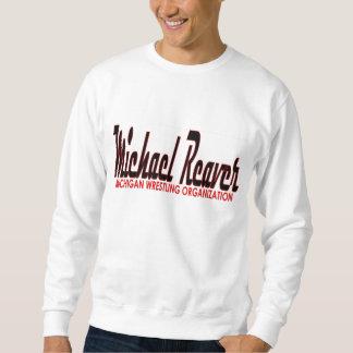 ミハエルReaver筆記体のロゴ スウェットシャツ