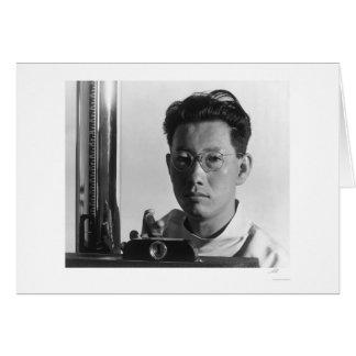 ミハエルYonemitsu、X線の技術者1943年 カード