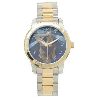 ミュシャの女性の星アールヌーボー 腕時計
