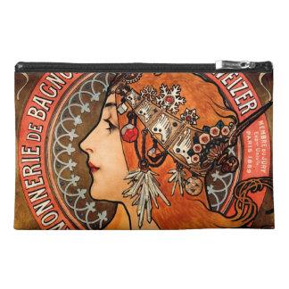 ミュシャのBohoの女性 トラベルアクセサリーバッグ
