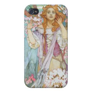 ミュシャMaudeアダムス iPhone 4/4S Cover