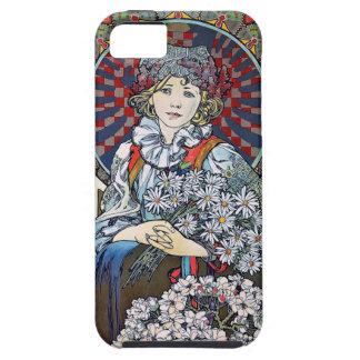 ミュシャVyskove iPhone SE/5/5s ケース