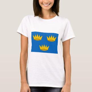ミュンスターの地域の旗 Tシャツ