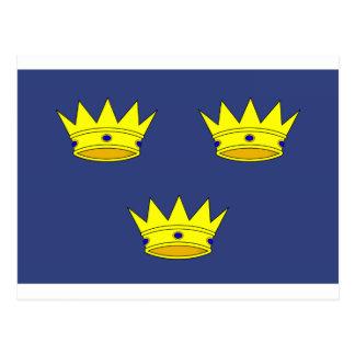 ミュンスター(アイルランド)の旗 ポストカード
