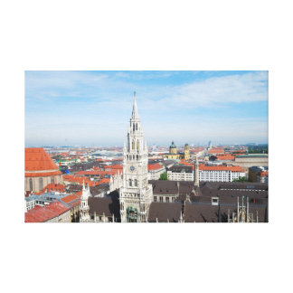 ミュンヘン、ドイツのキャンバスのプリント キャンバスプリント