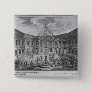 ミュンヘン、ドイツの宮殿 缶バッジ