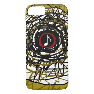 ミュージカルノートとの極度カッコいいの抽象的概念 iPhone 8/7ケース