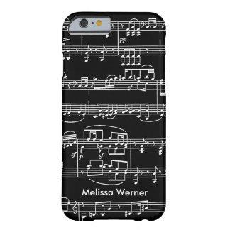 ミュージカル+パーソナライズされたに注意します BARELY THERE iPhone 6 ケース