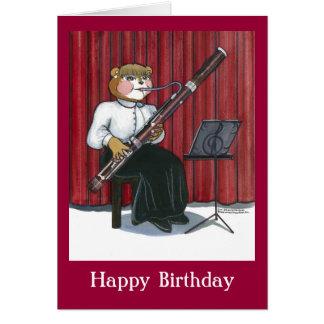 ミュージシャンのためのバースデー・カード カード