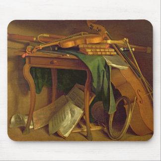 ミュージシャンのテーブル、c.1760 マウスパッド