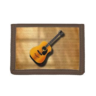ミュージシャンの名前をカスタムするを用いる音響のヴィンテージのギター