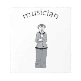 ミュージシャン ノートパッド