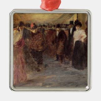 ミュージックホール、c.1890 メタルオーナメント