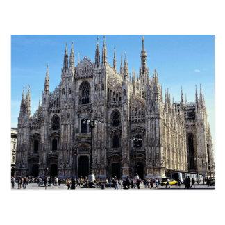 ミラノのカテドラル、イタリア ポストカード