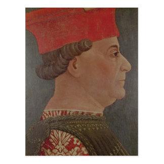 ミラノのフランチェスコSforza公爵 ポストカード
