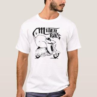 ミラノのラットのTシャツ。 Tシャツ